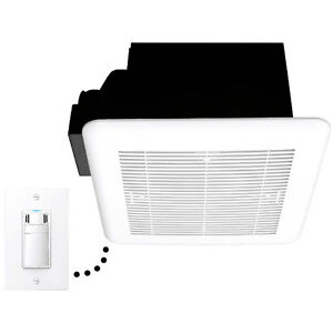 DewStop® 100 CFM Bathroom Ventilation Fan with Fan Control