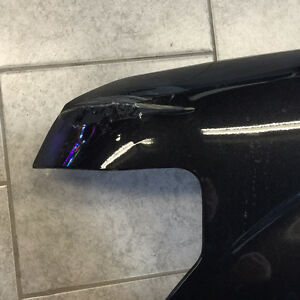 2012 FORD F150 DRIVER SIDE FENDER (FACTORY WITH LIGHT DAMAGE)