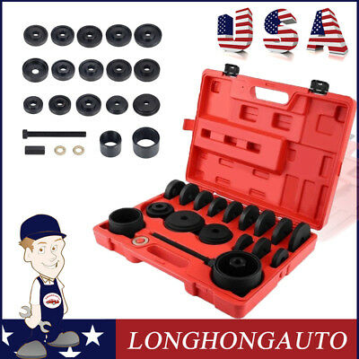Kit 23PCS 4WD FWD Front Wheel Drive Bearing Adapters Puller Install Removal Tool ()