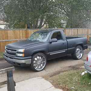 2007 Chevy Silverado regular cab short box z71 4x4