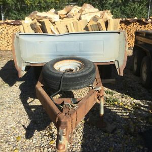 One Ton Ford Truck Box Trailer