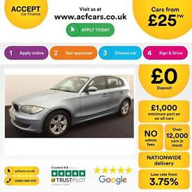 BMW 120 2.0TD 2008MY d SE FROM £25 PER WEEK!