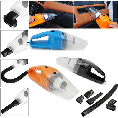 12V 150W Auto Car Vacuum Cleaner Dust Duster ABS Portable Mini Cyclonic Wet/Dry