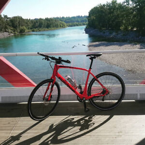 SPECIALIZED SIRRUS EXPERT CARBON HYBRID BIKE 2016