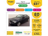 Black BMW 118d 2.0TD 2012 M Sport Coupe Manual FROM £51 PER WEEK!