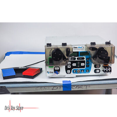 Fms Duo Arthroscopy Pump And Fluid Management System W Integrated Shaver