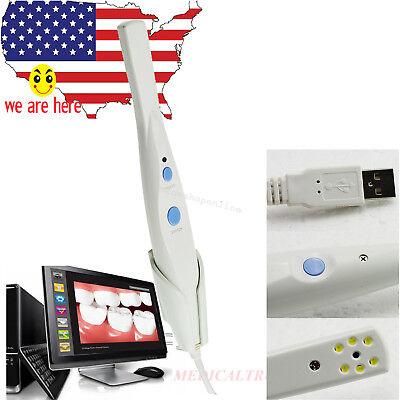 Usps Hd Dental 5.0 Mp Led Intraoral Oral Dental Camera Hk790 Usb 2.0 Software