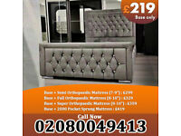 Double and King Size Plush velvet Heaven bed Frame Available at Cheap Prices