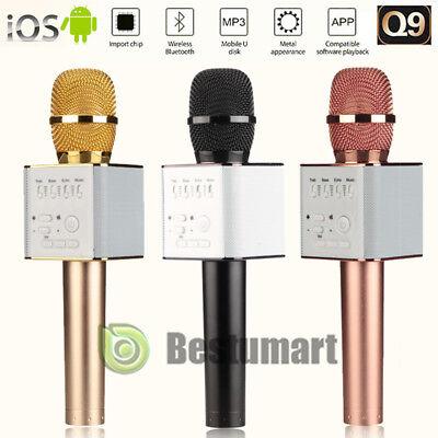 Q9 Wireless Handheld Microphone KTV Karaoke Stereo USB Player Bluetooth Easytake