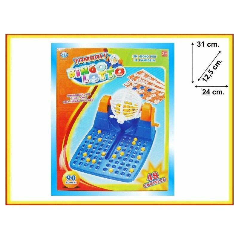 Tombola Bingo Lotto Gioco Da Tavola 90 Numeri 48 Cartelle Feste Di Natale