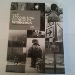 Joffe Key Accounting Principles Vol 1, 4th Ed Text & Workbook Kitchener / Waterloo Kitchener Area image 3