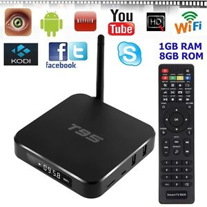 T95 1 gb s905 Cortex A53 Processor Android System $70.00