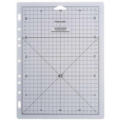 FISKARS 20x28cm A4 SELF HEALING CUTTING CRAFT MAT grid