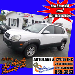 2006 Hyundai Tucson AWD Sharp White! New brakes $5995 !!!!!!!!!!