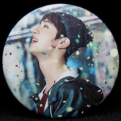 Fashion Kpop Bts Bangtan Boys JIN Badge Brooch Chest Pin Souvenir Gift - (58mm)