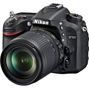 Nikon D7000 with Nikkor 18mm-105mm lens