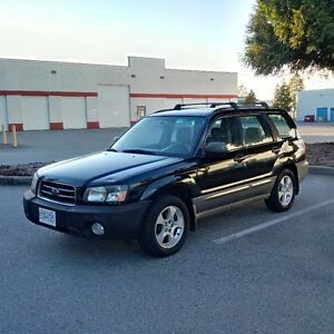 2003 Subaru Forester 2.5 AWD in very good condition