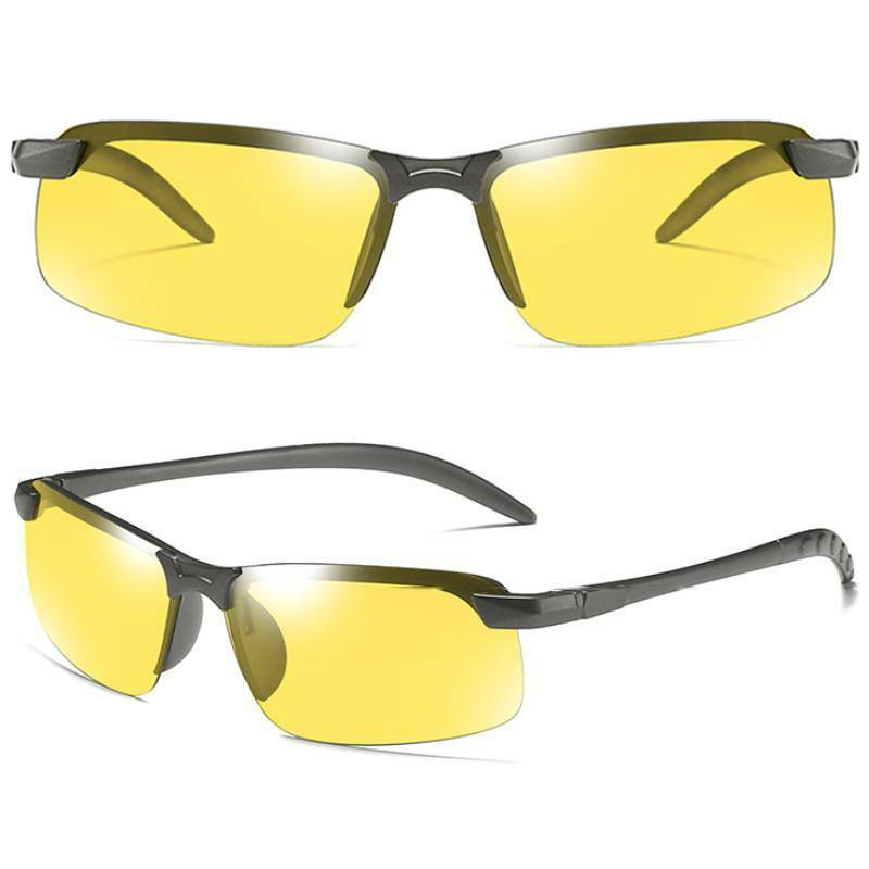Men Driving Glasses With UV400 Photochromic Lens Polarized Sports Sunglasses NEW Clothing, Shoes & Accessories