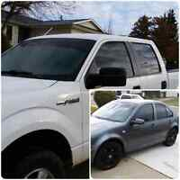 **Cheap Quality Vehicle Tint Application** FREE QUOTE