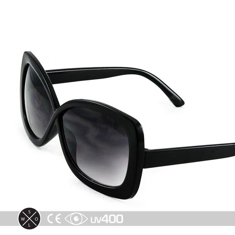 Black Large Format Stylish Infinity Kids Girls Sunglasses Child Children K004