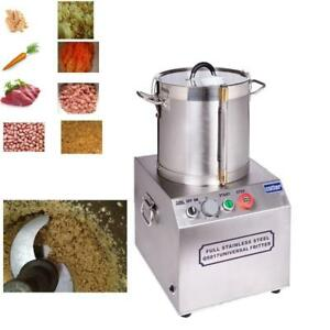 110V Meat Vegetable Prep Food chopper cutter Processor processing machine (#020293)