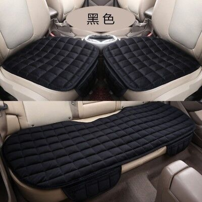 (Universal Front & Rear Back Car Auto Seat Cover Protector Mat Chair Cushion Pad)