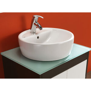 Basin style sink Vanity Top by Bissonet of Spain