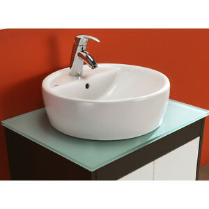 Basin style sink Vanity Top by Bissonet of Spain