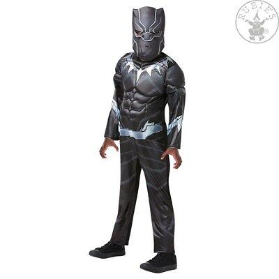 RUB 3640909 Black Panther Avengers Assemble Deluxe Kinder Jungen Kostüm Karneval