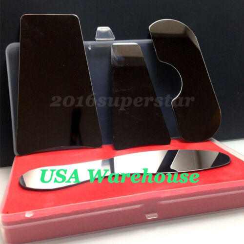 USA 1Set Dental Orthodontic Photo Mirror Intraoral Photographic Stainless Steel
