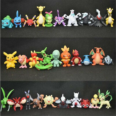 Lot 100pcs Pokemon Action Figures Toy Collection Figurine Gift No Repeat 4-5CM for sale  Shipping to Canada