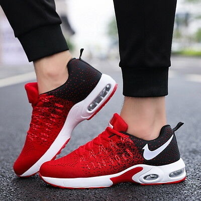 Running Sneakers (Men's Fashion Running Breathable Shoes Sports Casual Walking Athletic)