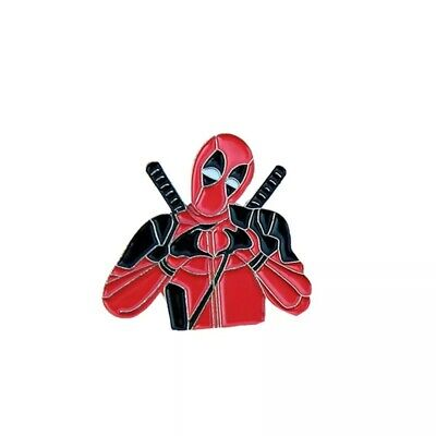 Deadpool cute comic book hero Wade Wilson PIN brooch enamel US SELLER
