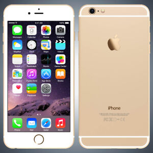 Iphone 6+ Golden with Box 64GB
