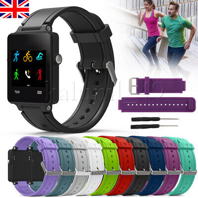 For Garmin Vivoactive Smart Watch Silicone Watch Band Wrist Strap With Tool UK