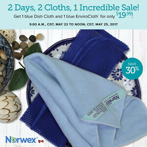 Norwex Flash Sale 2 cloths, Incredible Price