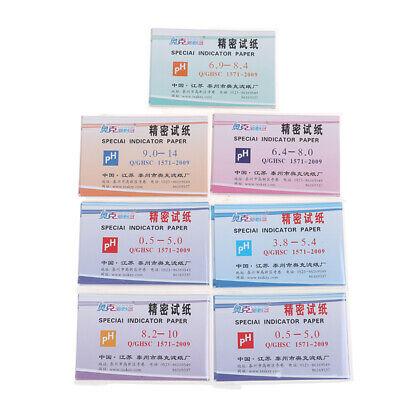 Ph Acid Range 3.8-5.4 Ph Paper Water Litmus Alkaline Paper Indicating Test Bl