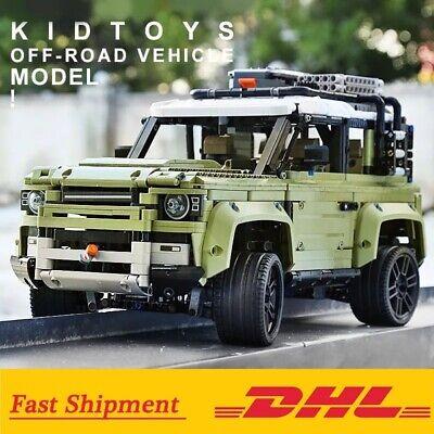 lego technic 42110 Land Rover Defender Assembly SUV Car Building Bricks Christma