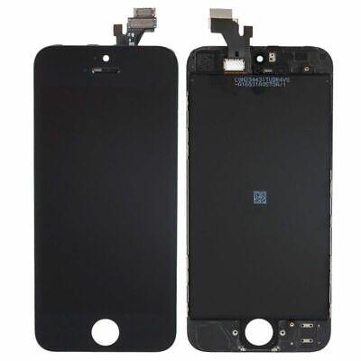 BLOC COMPLET ECRAN LCD VITRE TACTILE IPHONE 5c Noir