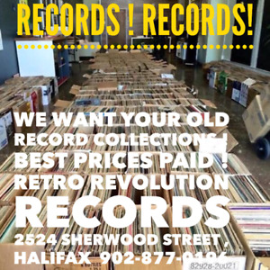 ☆ Retro Revolution Records ☆ We Buy Record Collections !
