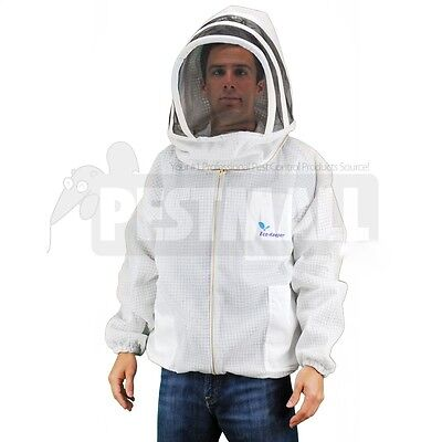 Vented Bee Jacket -eco-keeper Premium Professional Beekeeping Suit -xlarge Size