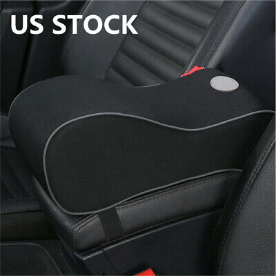 Memory Car Seat Armrest Cushion Foam Black Cushions Center Console Pillow Pad (Sterling Town Center)