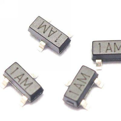 50pcs Mmbt3904 1am 0.2a40v Npn Sot23 Smd Transistor