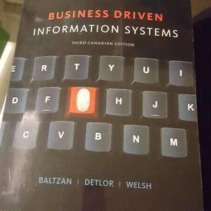 Business Driven Information Systems  Third Canadian Edition