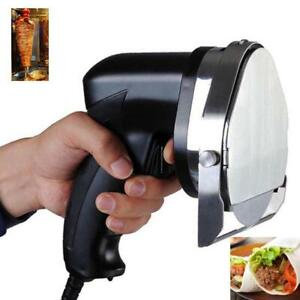 Professional Electric Shawarma Doner Kebab Knife Slicer Gyros Knife Cutter 110v(020262)