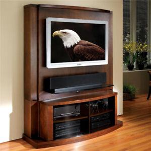 JSP Tango Flat Screen TV Entertainment Wall Unit