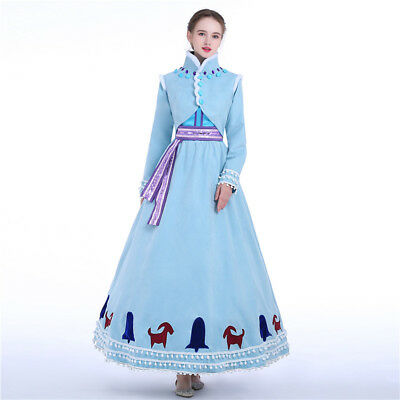 Frozen 2 Anna Elsa Disney Cosplay Costume Abend Kleid Kostüm Princess dress Neu