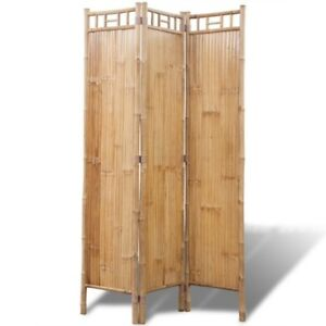 Paravent en  bambou solide (Solid bamboo screen)