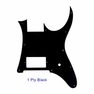 For MIJ Ibanez RG350 EX Guitar Pickguard Blank With Bridge Humbucker, 1Ply Black for sale  China