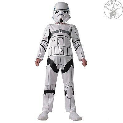 RUB 3610456 Star Wars Rebels Stormtrooper Lizenz Kinder Kostüm Jungen 9-10 - Star Wars Rebels Stormtrooper Kostüm